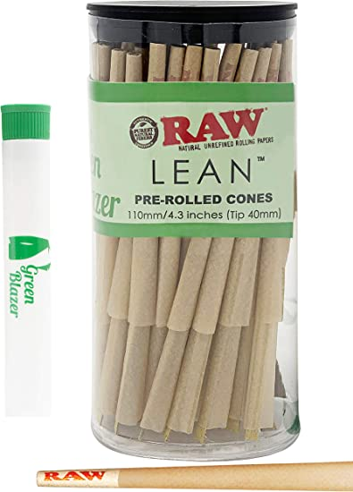 RAW Lean Cone 50 Pack Fast Shipping