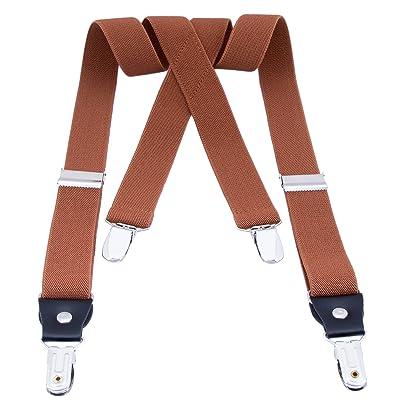 "Kids Boys Girls Suspenders Braces - "" X Shape"" Elastic Adjustable Suspenders for Toddlers & Adults"