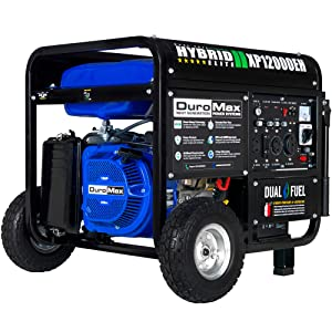 DuroMax XP12000EH Dual Electric Start Portable Generator