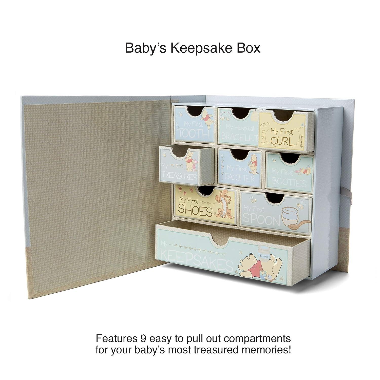 Baby Milestone Keepsake Storage Box Sweet Memories Track Treasured Memories