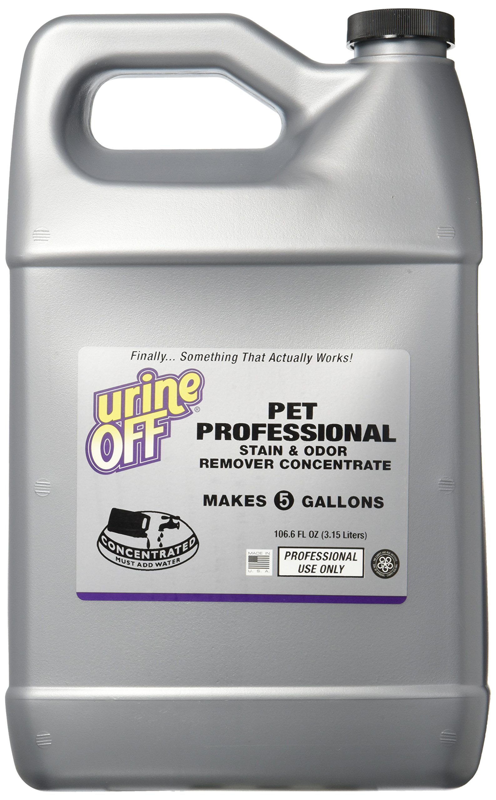 Urine Off 811665019173 1 Gallon Pet Proof Concentrated Refill