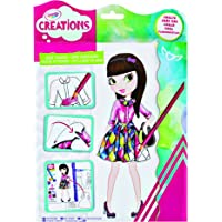 Crayola Creations Sticker Look Book, Design Fashionable Outfits, Includes Stickers, Perfect for Aspiring Kid Designers!