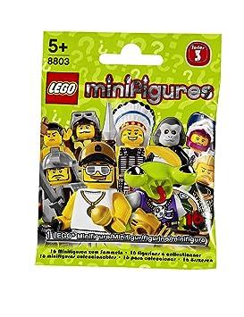 LEGO Minifigures 8803 - Minifiguras de LEGO, serie 3: Amazon ...