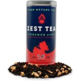 Energy Tea (2-Pack) - High Caffeine Apple Cinnamon Black Tea - 150 Mg Of Caffeine Per Bag (32 Sachets)
