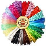 3D Pen PLA Filament Refills, 20 Colors, 20 Feet Each Color, Total 400 Feet by TTYT3D, Not Fit for 3Doodler Pen