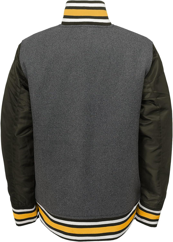 Outerstuff NFL Football Boys New York Giants Letterman Varsity Jacket