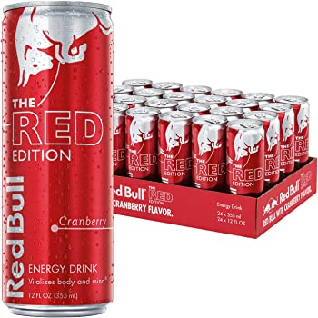 24Pk. Red Bull Red Edition Cranberry Energy Drink