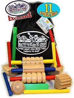 Amazoncom Alex Art Wooden Dough Tools Set Toys Games