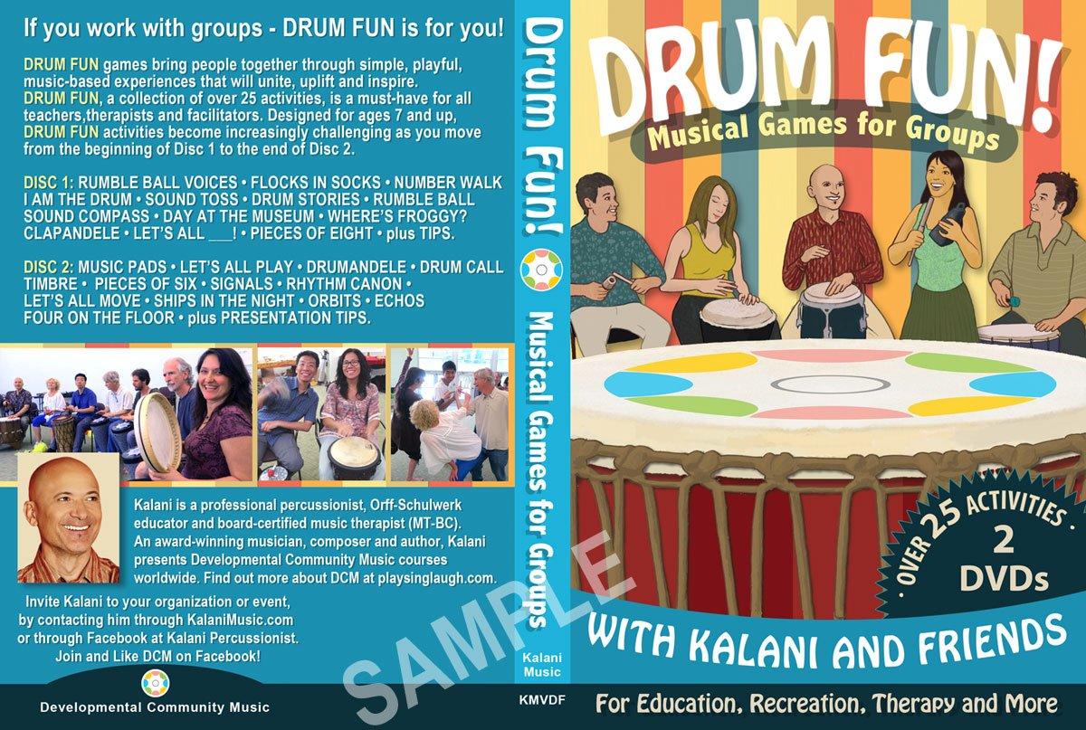 Amazon com: Drum Fun! - Musical Games for Groups: Kalani: Movies & TV