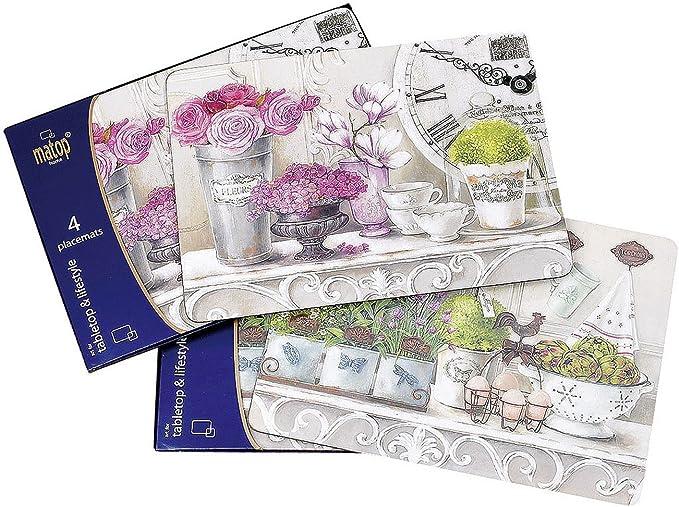 40 x 30 cm BOLTZE Tischset Lavendel 4tlg