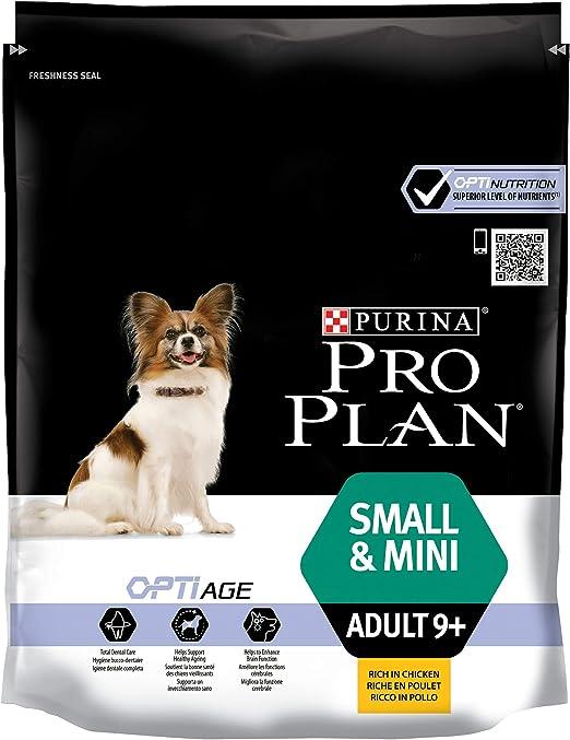 Purina ProPlan Small Age+9 pienso para Perro Adulto Senior Pollo 8 x 700 g