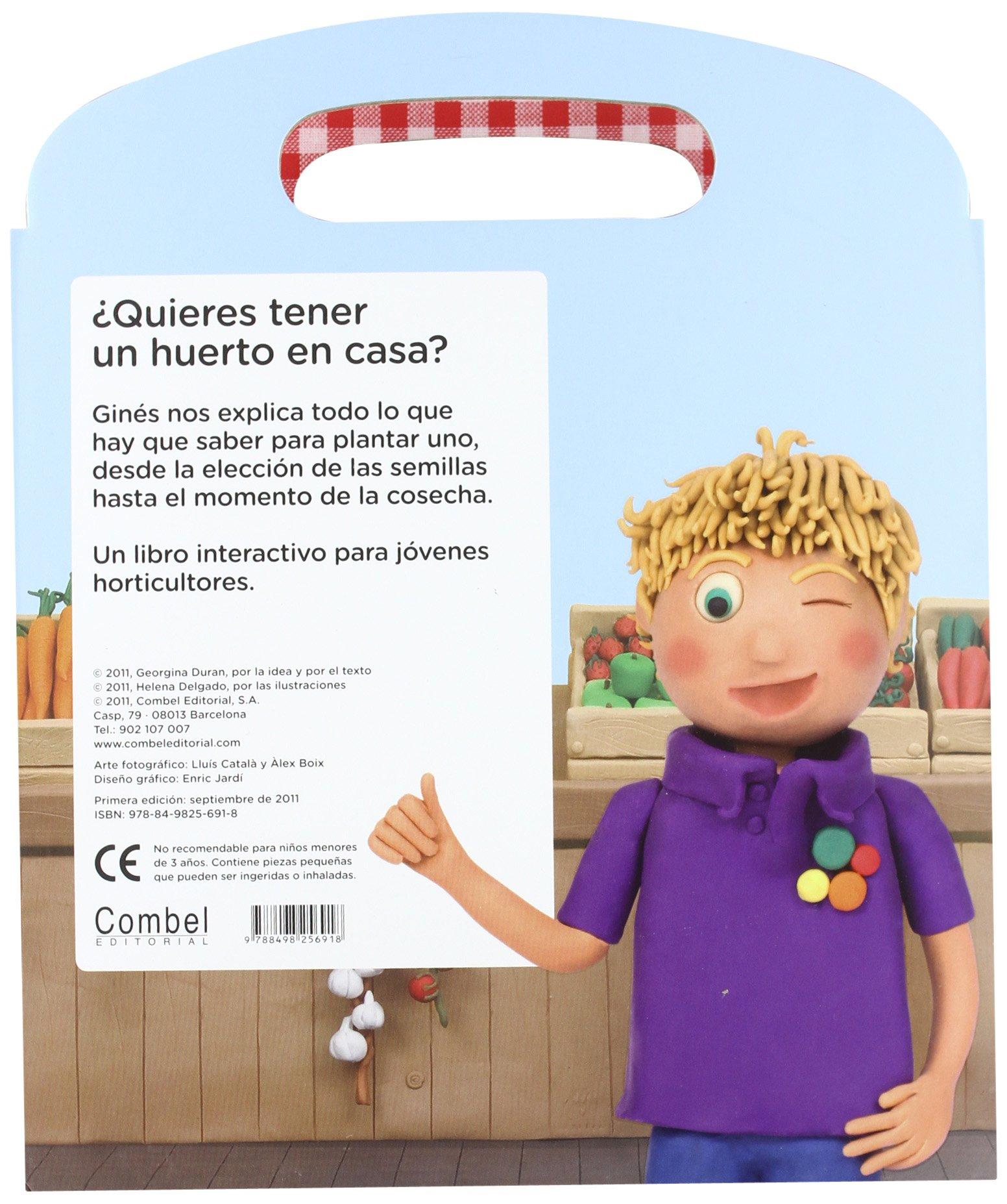 Un huerto en casa (Spanish Edition): Georgina Duran, Helena Delgado: 9788498256918: Amazon.com: Books
