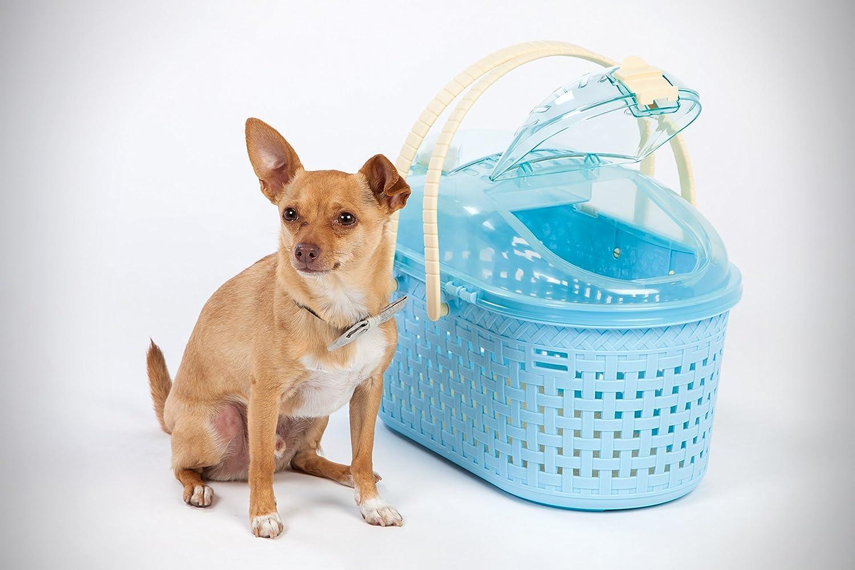 IRIS Small Animal Carrier Blue