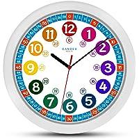 ONETIME Reloj de Pared Infantil (diámetro de) una