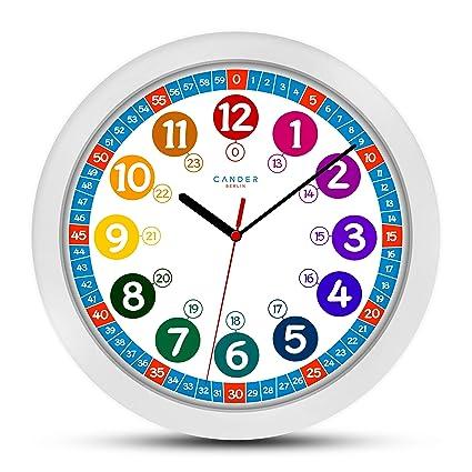 ONETIME Reloj de Pared Infantil (diámetro de) una Vez 30,5 cm Reloj
