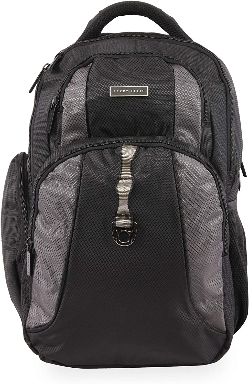 Perry Ellis P14 Business Laptop Backpack, Black, One Size