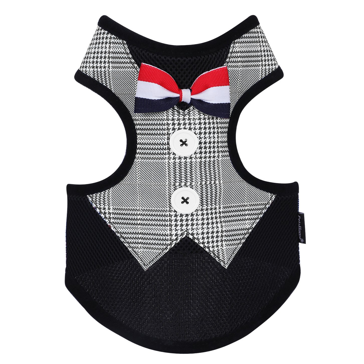 A-Black S A-Black S PetsHome Dog Clothes, Cat Clothes, Beautiful Soft Puppy Coat for Small Dog and Cat Small Black
