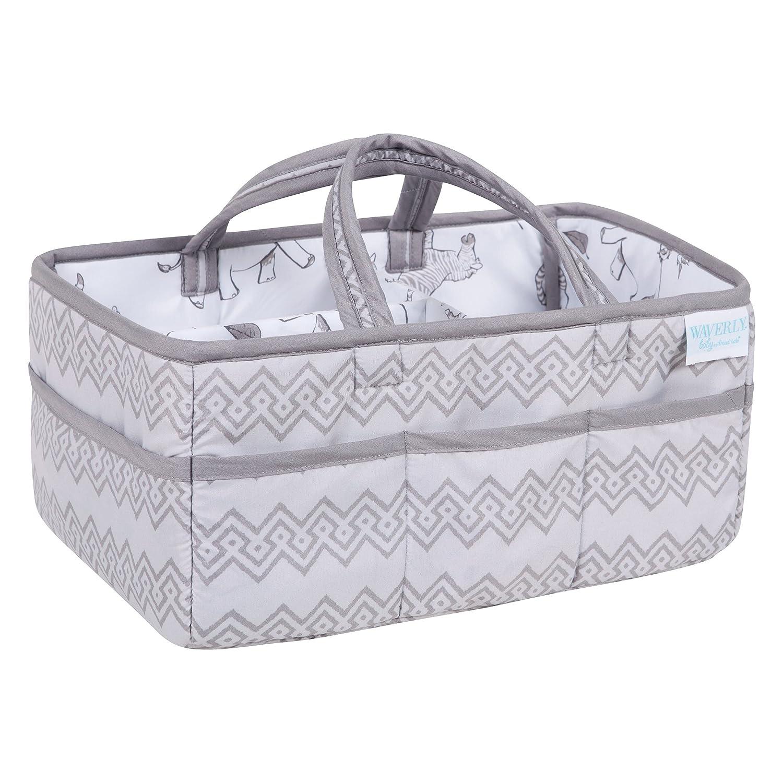 Waverly Congo by Trend Lab Line Diaper Caddy, Storage, Bin, Gray 71080