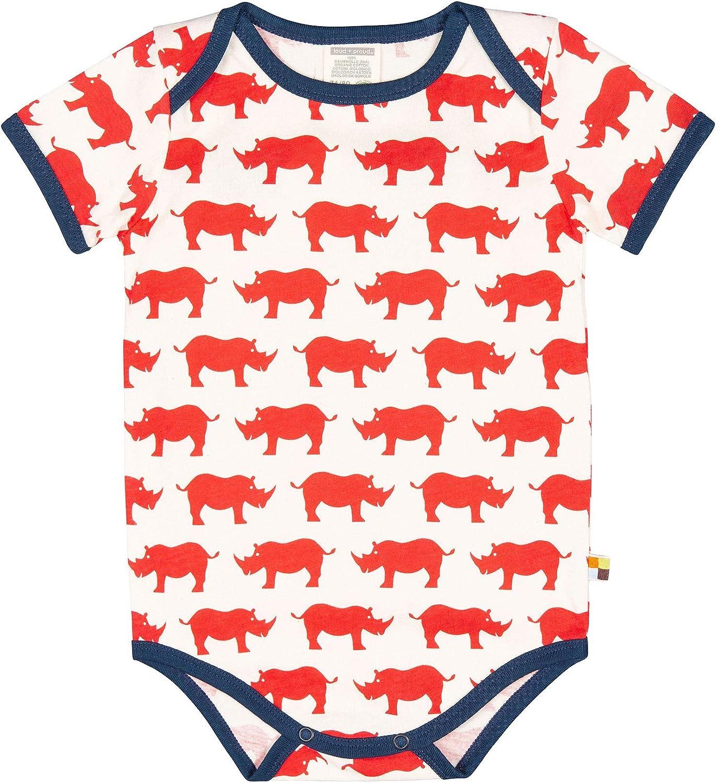 proud Unisex Baby Body Kurz mit Druck GOTS Zertifiziert Spieler aus Bio Baumwolle loud