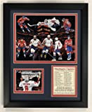 """Legends Never Die NHL Washington Capitals 2018 Stanley Cup Framed Double Matted Photos, Collage, 12"""" x 15"""""""