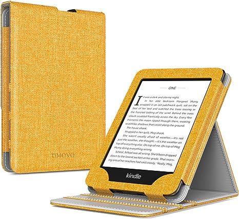avec Auto R/éveil//Sommeil pour Nouveau Kindle 2019 MoKo /Étui Compatible avec Liseuse Nouveau Kindle /étui de Retournement Vertical avec R/étro-/éclairage Fleur de Rotin 10/ème g/én/ération