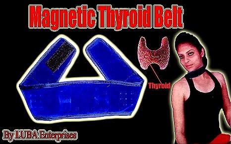 Luba Magnetic Acu Pressure Thyroid Belt Amazon In Health