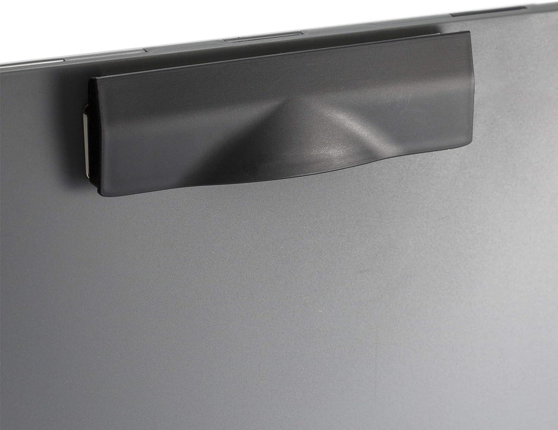 WZDTNL papelera rectangular de pl/ástico con bot/ón doble compartimiento de 12 litros de reciclaje de basura