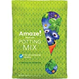 AMAZE 74078770 Moist-Sure Potting Mix-Use for All Container Plants, Feeds for up to 6 Months, Helps Guard Against Over-and Un