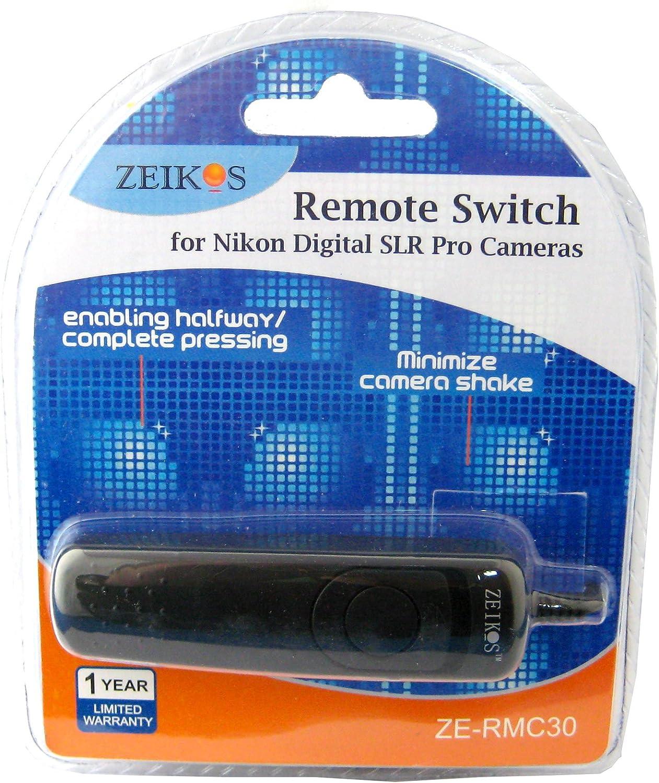 Zeikos ZE-RMC30 Remote Switch for Nikon