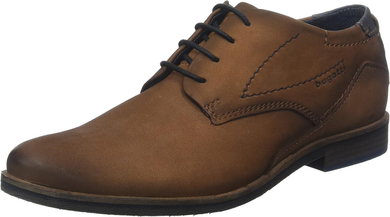 bugatti 312173041500, Zapatos de Cordones Derby para Hombre