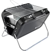 Valiant Nomad Pliante Portable Barbecue, Noir