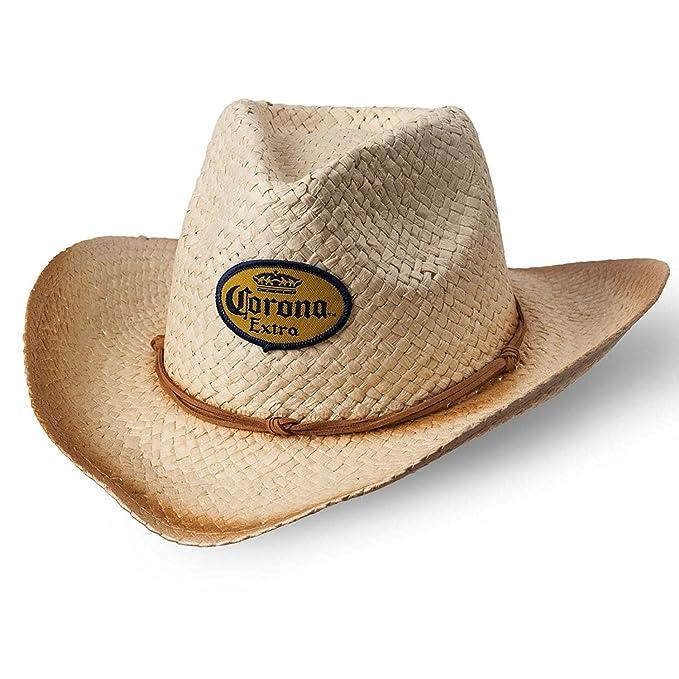b356f06e5df Corona Straw Cowboy Hat at Amazon Men s Clothing store