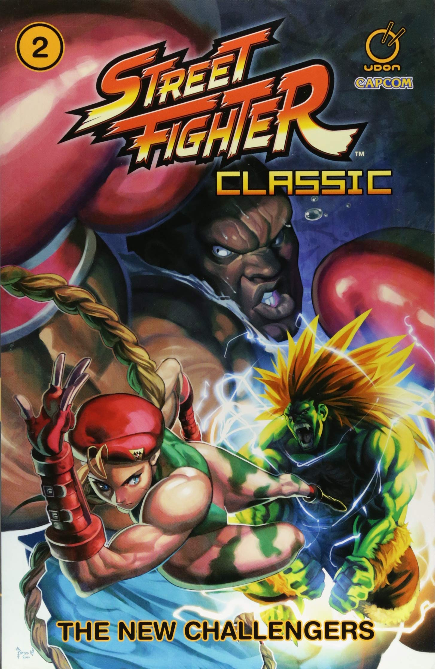 Street Fighter Classic Volume 2: The New Challengers Paperback – July 10, 2018