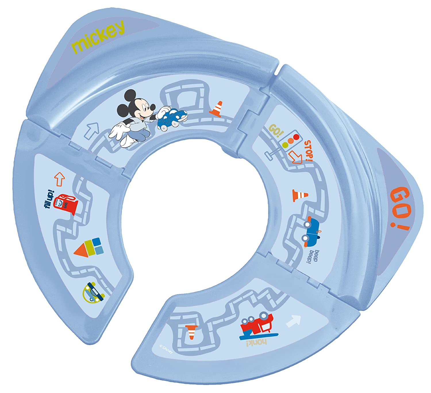 Solution Siege De Toilette Transportable Pliable Disney - Mickey Babyland 56315