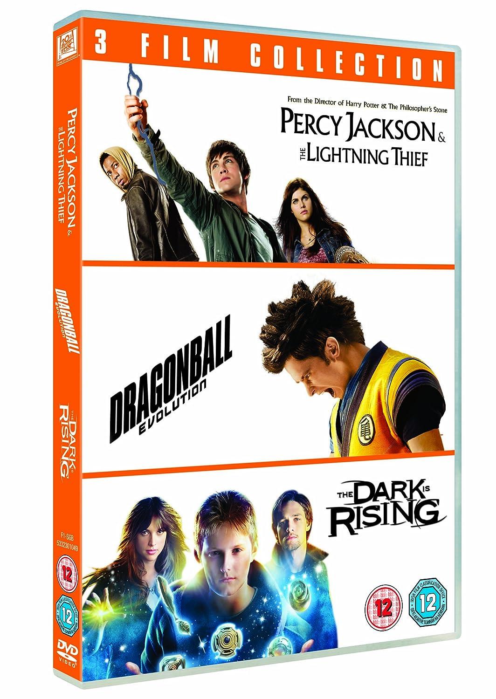 Percy Jackson And The Lightning Thief/Dragonball Evolution/... 3 Dvd Edizione: Regno Unito Reino Unido: Amazon.es: Movie, Film: Cine y Series TV