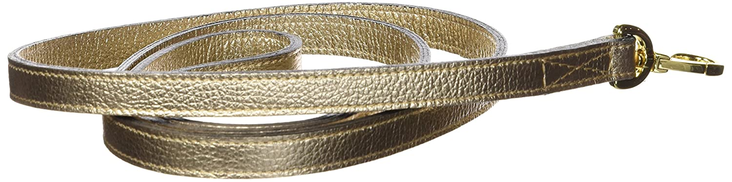 Hartman & pink 12479 Horse and Hound Dog Lead, 1 2-Inch, Metallic gold