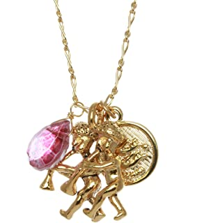 product image for a. v. max Gemeni Charm Necklace