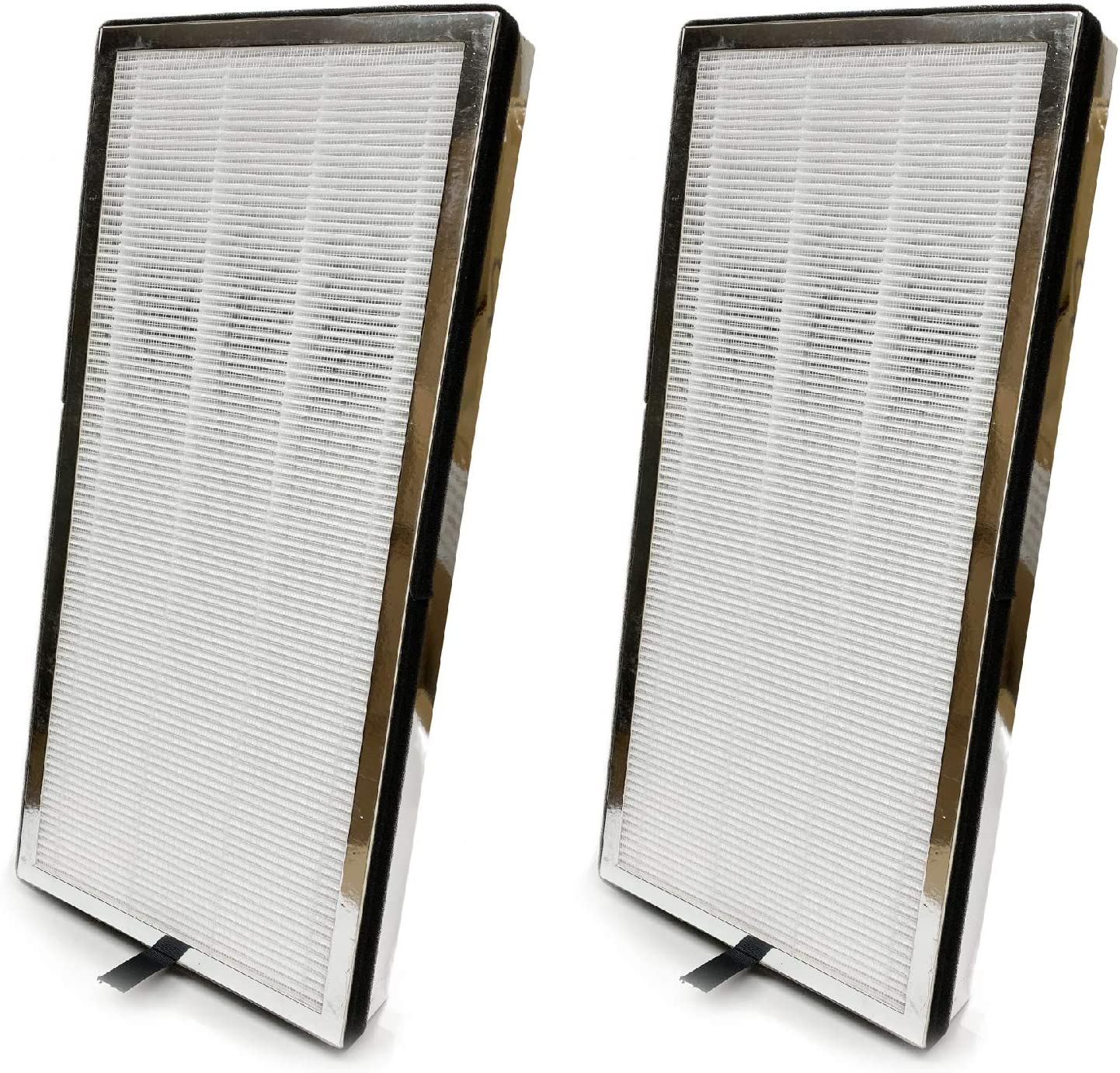 Nispira 3-in-1 True HEPA + Activated Charcoal Air Filter Replacement Compatible with Medify Purifier Model MA-40 MA-40-W MA-40-B1 V2.0. Compared to Part ME-40. 2 Units