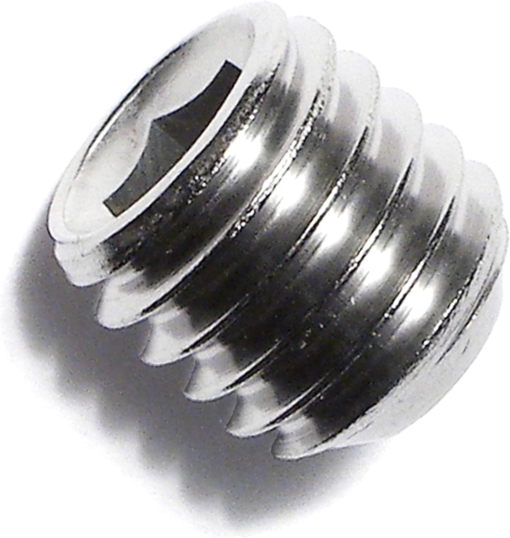 Piece-8 Hard-to-Find Fastener 014973207854 Socket Set Screws 7//16-14 x 3//8