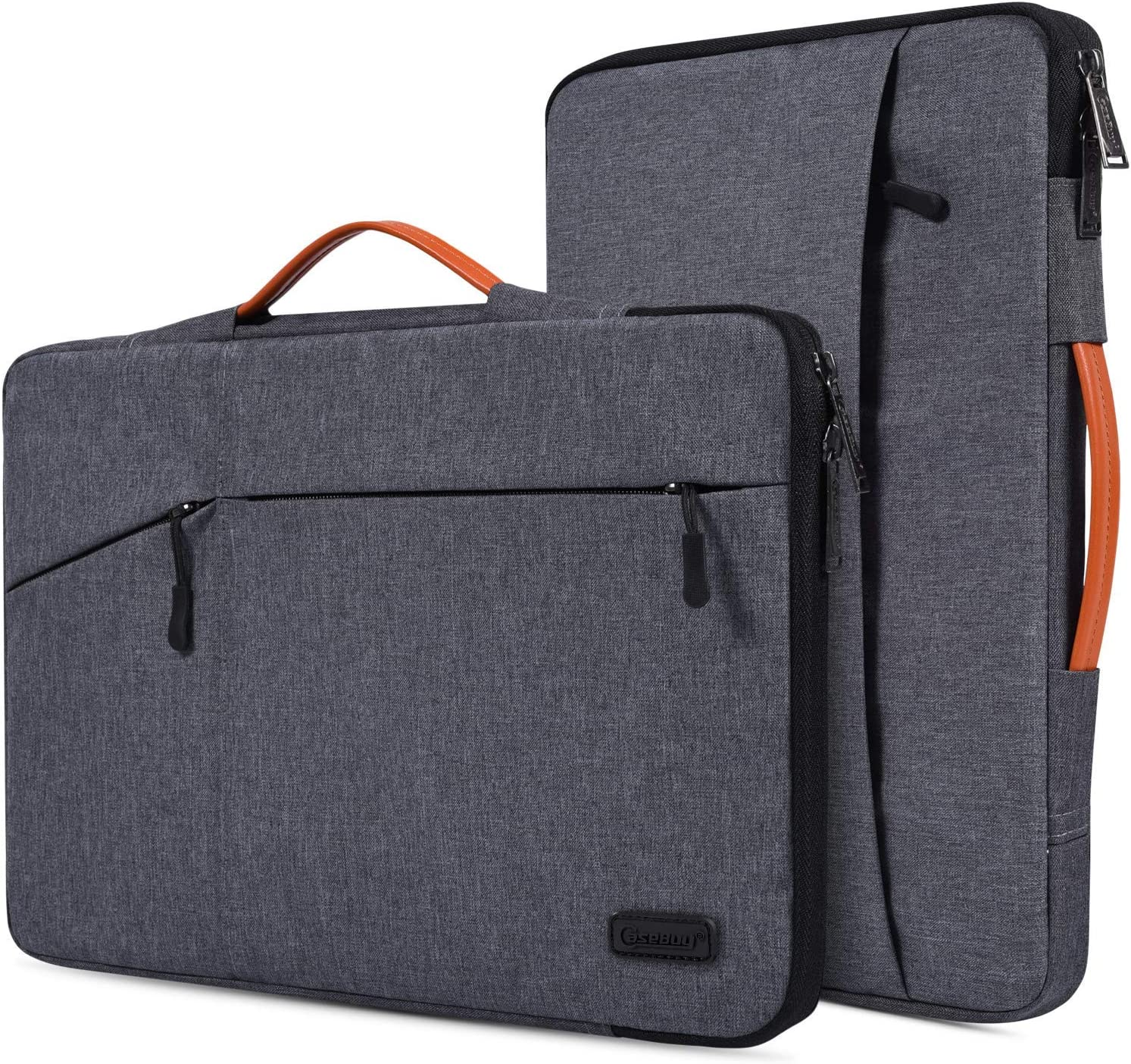 "17.3 inch Laptop Waterpoof Laptop Case for HP 17.3"" Laptop, HP Pavilion 17, HP Envy 17T, HP PROBOOK 17, Dell Inspiron 17 3785 3793, Lenovo Ideapad 17.3, 17.3"" Protective Notebook Bag, Space Grey"