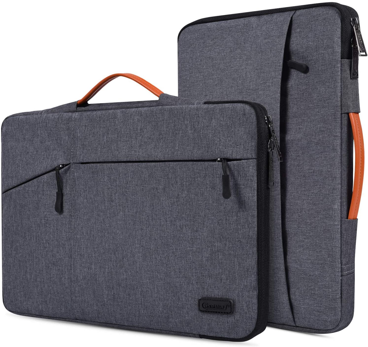 11.6-12.9 Inch Waterpoof Laptop Briefcase Sleeve for Lenovo C330 11.6 Chromebook, Acer 11.6 Chromebook, Samsung Chromebook 3 11.6, HP ASUS DELL Lenovo 11.6 Chromebook Tablet Sleeve Case, Space Grey