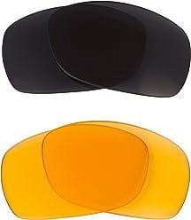 9da011d557 Sideways Replacement Lenses Hi Intensity Yellow   Grey by SEEK fits OAKLEY