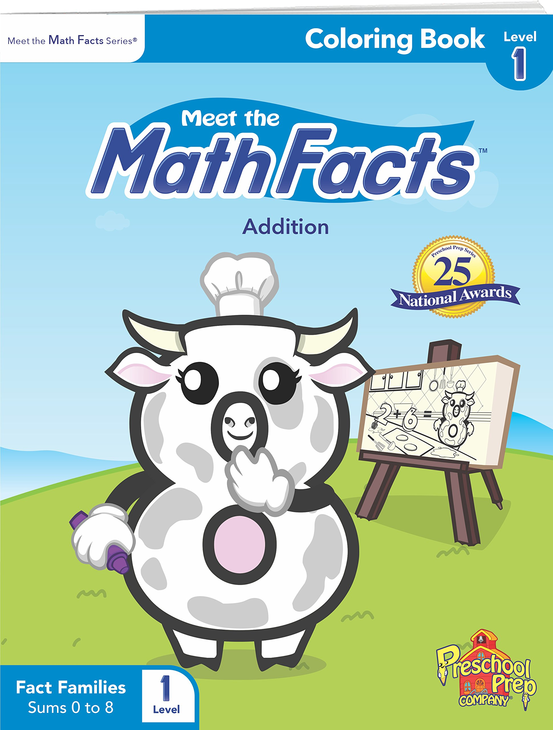 Meet the Math Facts Level 1 - Coloring Book: Kathy Oxley ...