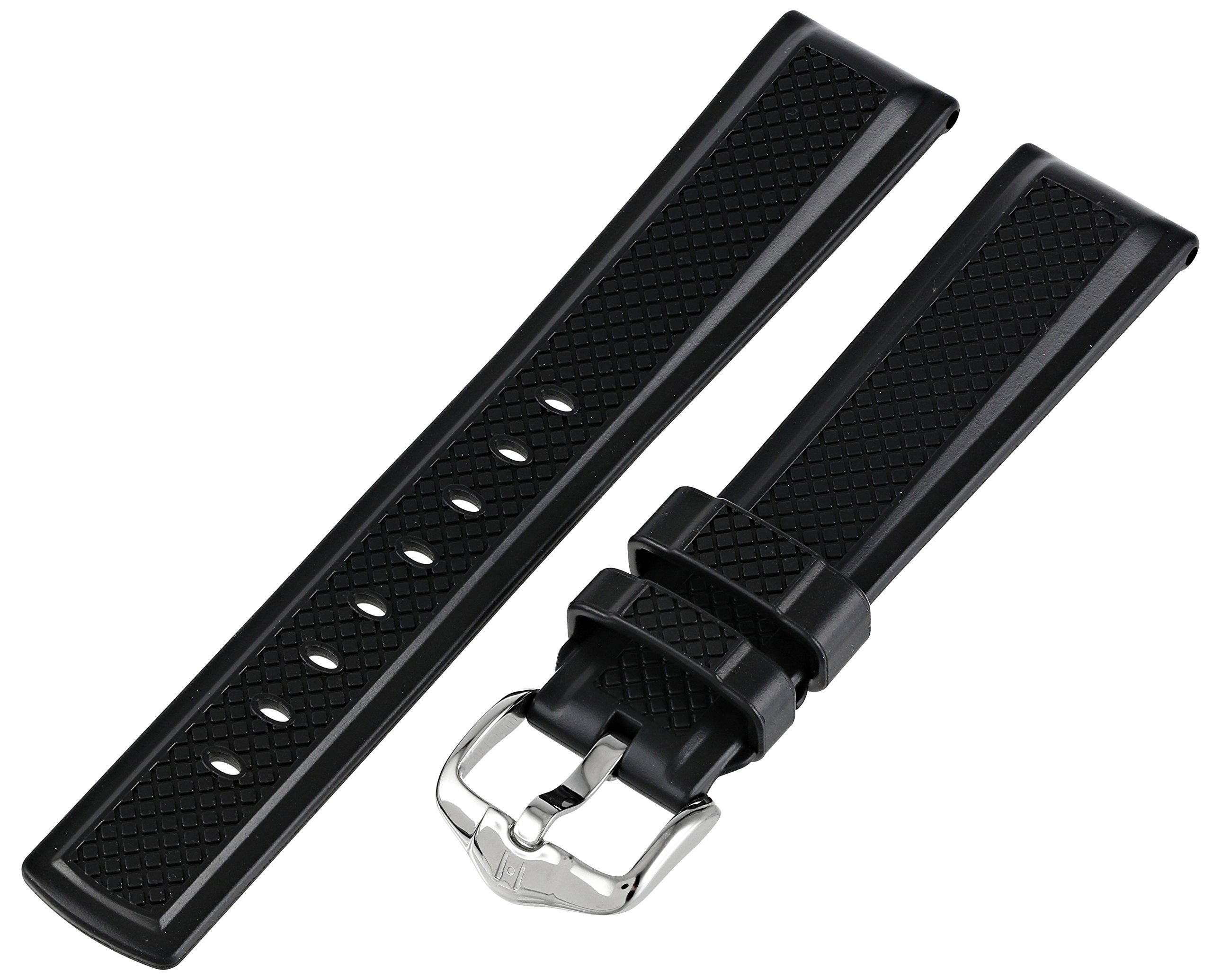 Hirsch 404788-50-20 20 -mm  Caoutchouc Watch Strap