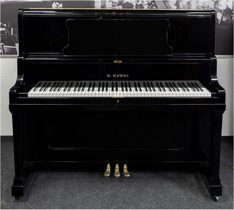 Kawai K48 - Piano (pulido), color negro: Amazon.es ...