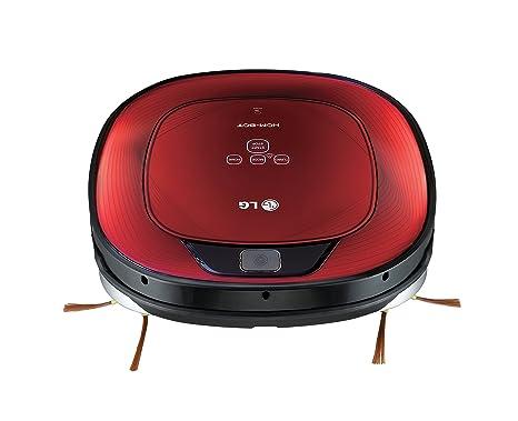 LG HomBot Square Aspirador Robot Vr64702lvmb Hepa 12,Rojo, 23 W, 60 Decibelios