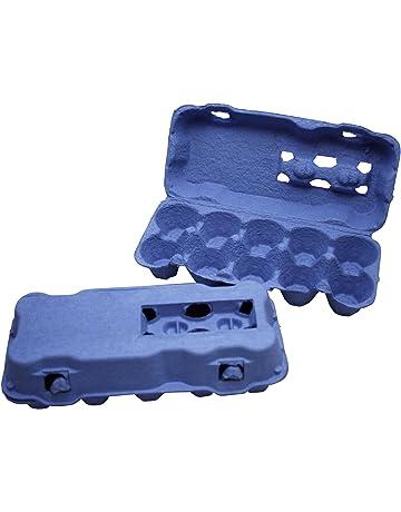 85 blaue Eierschachteln Eierverpackungen Eierverpackung Eierschachtel
