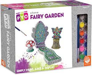 MindWare Paint Your Own Stone Set: Fairy Garden