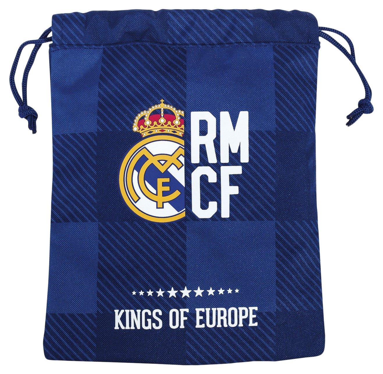 Real Madrid 2018 Sac à Cordon, 25 cm, Multicolore (Multicolor) 811724237