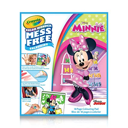 Crayola Color Wonder Book Minnie Mouse